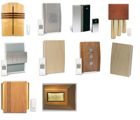 10 Decorative doorbells